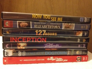 1 DVDs Watched